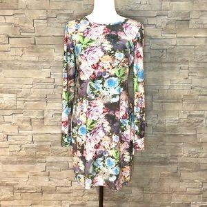 Suzy Shier floral body con dress